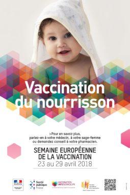 Semaine européenne de la vaccination du 23 au 29 avril 2018